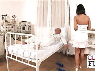Naughty fucked nurses - Naughty nurse fucks patient