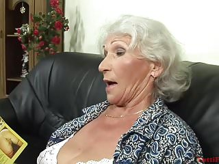 Ametuer granny porn Horny euro granny porn casting