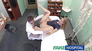 FakeHospital Innocent blonde gets the doctors massage