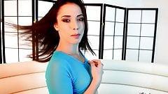 iStripper girl Anastasia Brokelyn 1 masturbates on camera.