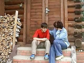 Amateur russian mother anal Amateur russian mature mother and boy