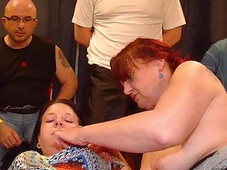 Gilf gangbang video - Gilf and stepdaughter enjoy gangbang