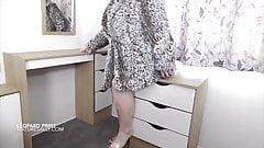 My leopard print coat