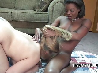Blonde lesbo licking Blonde lesbo savanna knight gets fucked by an ebony slut