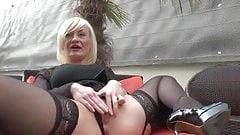 French mature Caroline anal fucked