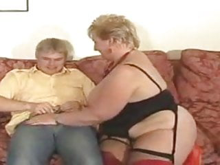 Nudist gay youth - Large golden haired granny drilled by youthful dude