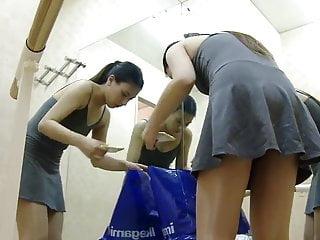 Big tit blonde lockerroom Ballet lockerroom.7