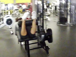 Jack s big ass show 3 Jacking in my pants at the gym 3