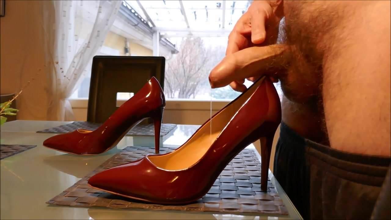 High heel sex man — photo 1