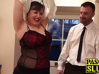 Domination submission domination - Cute english submissive dominated and roughly rammed