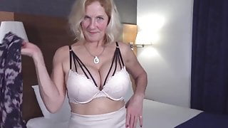 granny with amazing tits and still fresh pussy has a big cock