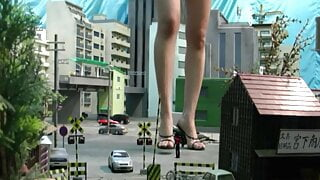 Asian Giantess City 5