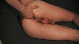 dirty ass fisting with toy