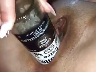 Glass bottle porn