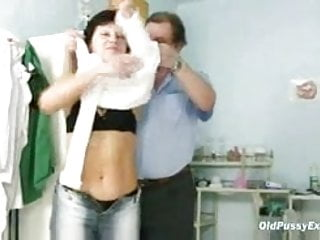 Vaginal gyno Mature woman eva visits gyno doctor to get gyno mature exam