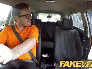 Aden bianco nude Fake driving school hot italian nympho minx valentina bianco