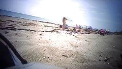 3 Topless Teens at Florida Beach - 01