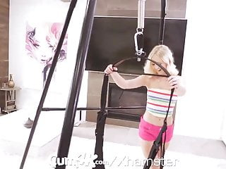Redtube swing fuck - Cum4k blonde fucked with multiple creampies in the cum swing