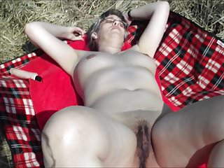Free large clit pix - Pleasuring my large pussy outdoor part 2