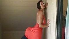Hot Big Ass Brunette Smothering