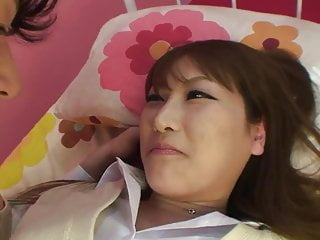 Teen cream pie tube Cute japanese whore gets a hard bang and cream pie in bed