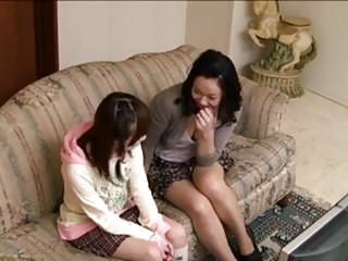 Mother teen daughter blowjobs - Japanese not mother-daughter tv fantasy