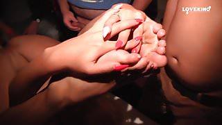 Gangbang at Erotic Theater