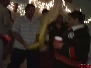 Frat party videos first time gay Party girls go wild for cock at a frat party