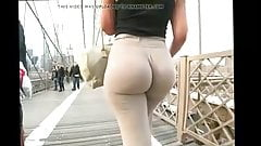 Big ass teen ass clapping