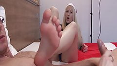 Sexy Teen Foot Worship