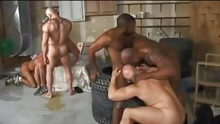 Muscle Daddy Orgy