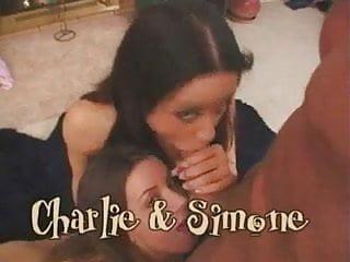 Charlie bridges facial Sloppy facial charlie and simone