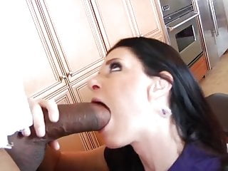 Gigantic fat cock Milf gobbles gigantic bbc