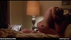 Jane Fonda & Penelope Milford naked and romantic sex video