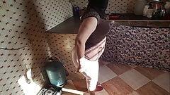 Waaw big ass Moroccan mom routine yawmii arab
