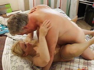 Russian milf Tania blonde russian milf whore slow fuck