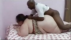 Big Fatty Girl Sex with Black Man with Big Cock