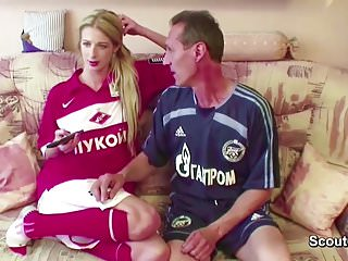 Young teen and grandpa videos - Petite young teen seduce to fuck by big cock grandpa