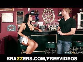 Regular ass - Big-tit brunette bartender mackenzee pierce fucks a regular