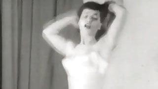 Dancing is Best Done in Lingerie (1950s Vintage)