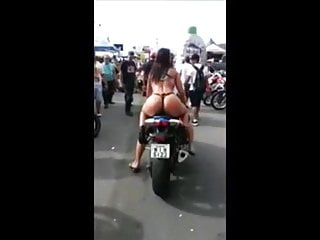 Hannah montana riding a motorcycle naked - Brazilian slut hot in panties riding a motorcycle