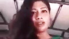 Sri Lankan woman showing boobs
