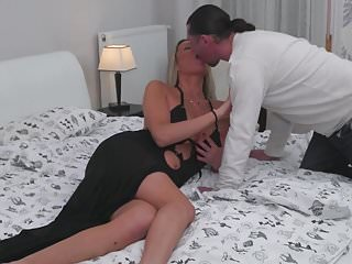 Sexy 14 tall Sexy tall milf fucked in all wet holes