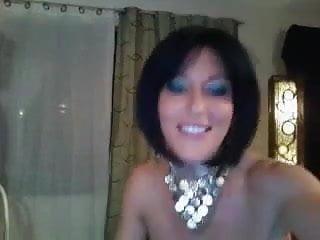 Sex showe Horny cougar woman dildo show