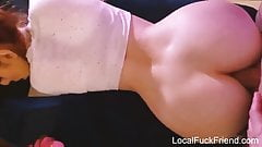 redhead gets orgasm from anal sex