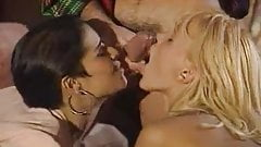 Dalila and Anita Blond  in group sex orgy