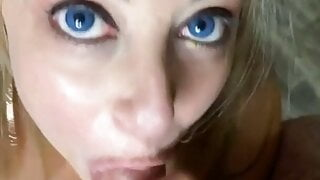 Sexy MILF Sucks and Milks Two Dicks - Vanessa L Summers