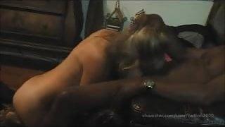 Blonde Mature Lori and Black Mans