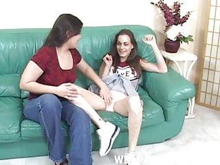 Teen cheerleader pantie I let my cheerleader best friend lick my panties