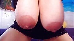Victoria's Nice Nips on Heavy Hangers